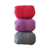 Private Label Supportive Cotton Yoga Bolster Organic Round Shape, Meditation Pilates Yoga Pillow with Handle