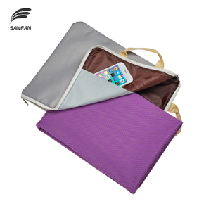 New Design Custom Private Label Multifunctional Zippered Yoga Bag Canvas