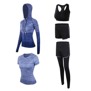 Fashion Casual Tracksuit Set Ladies Hooded Zipper Long Sleeve Pullover Sport Wears Dress Women