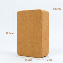 Wholesale eco friendly custom label body building yoga cork block