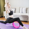 Wholesale high quality gym exercise TPE ABS yoga wheel roller