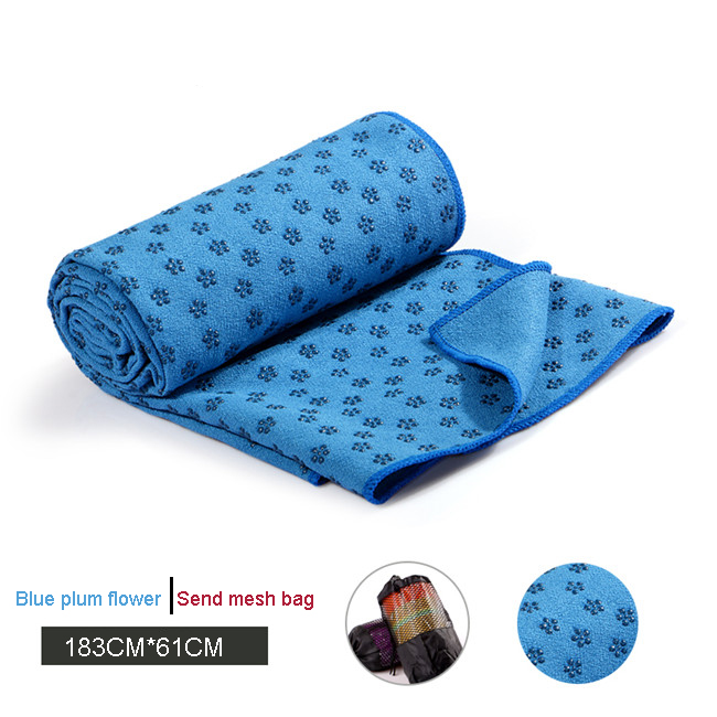 High Quality Fitness Anti Slip Yoga Mat Towel Sport Absorbent Microfiber Fabric Yoga Towel