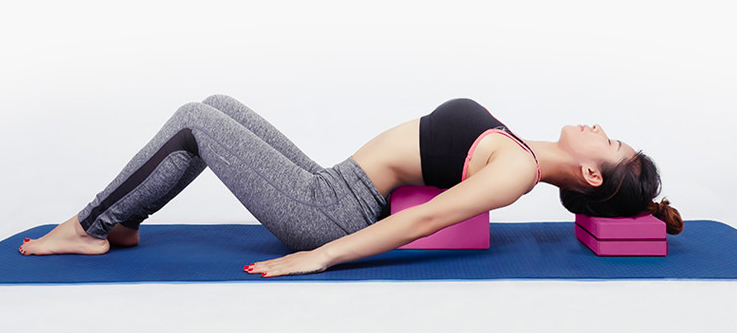 yoga block to improve practice