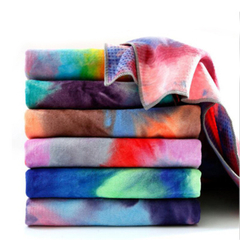 Mixed Colorful Yoga Towel