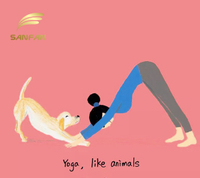Playing Yoga, Like an Animal